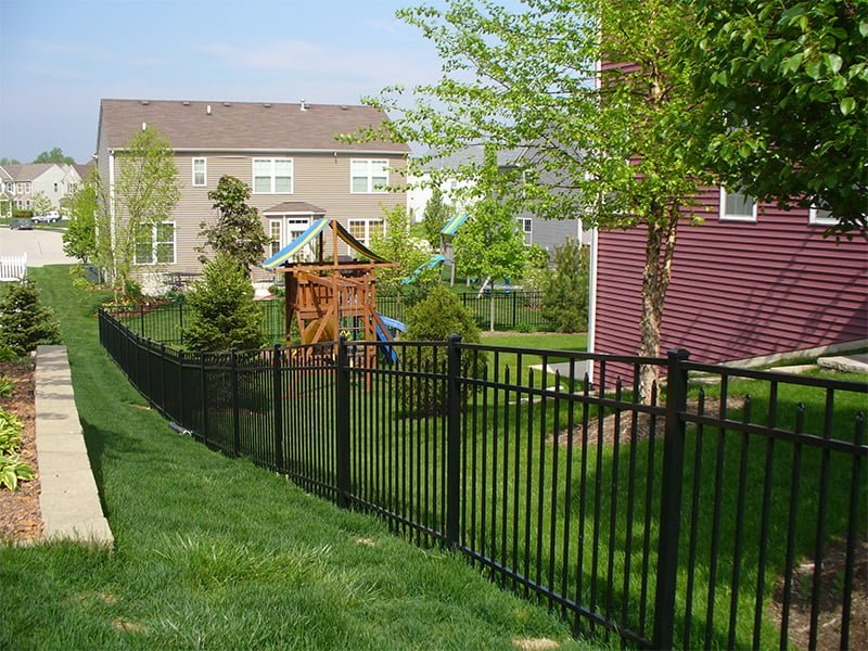 Deck up your garden area with a 3-rail ranch fence from Duramax