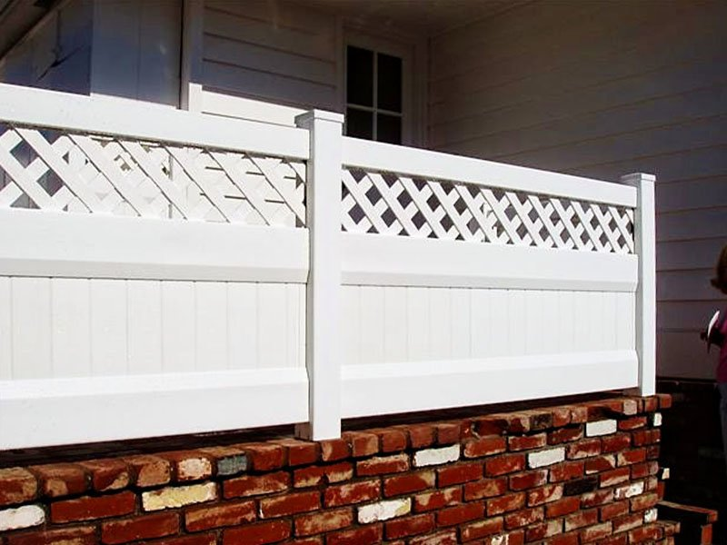 Maria installed a vinyl picket fence to improve her home before her baby's first birthday