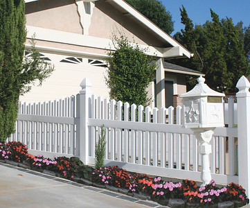 If you want your neighbors to envy your property install a beautiful vinyl fence in your yard similar to Kevin's