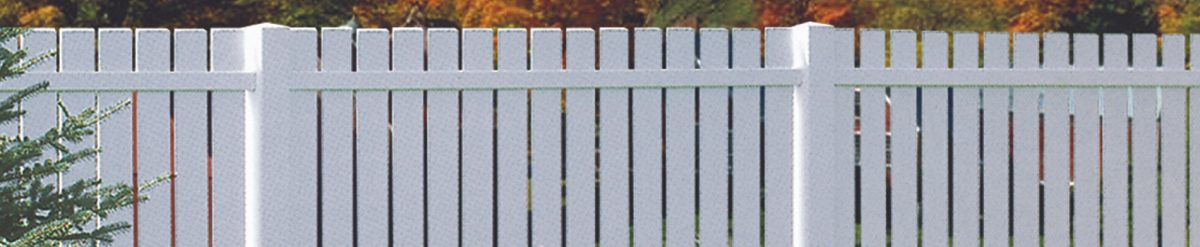 Installing a Vinyl Picket Fence for decorative purpose – Duramax offering colored fences that can last for a lifetime