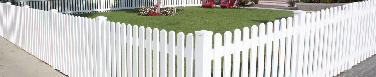 Installing a white vinyl fence around Brian's home – custom vinyl fencing from Duramax white vinyl fence
