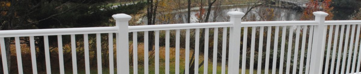 Want to add more security for your kids and pets? Consider a vinyl fencing solution