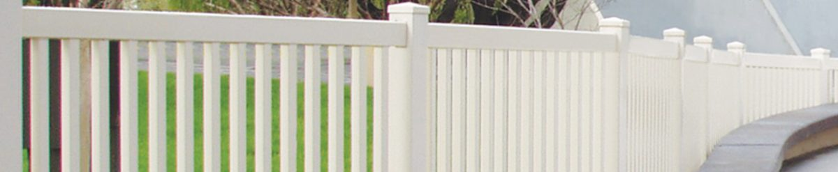 Add a touch of class to your yard with Duramax vinyl fences