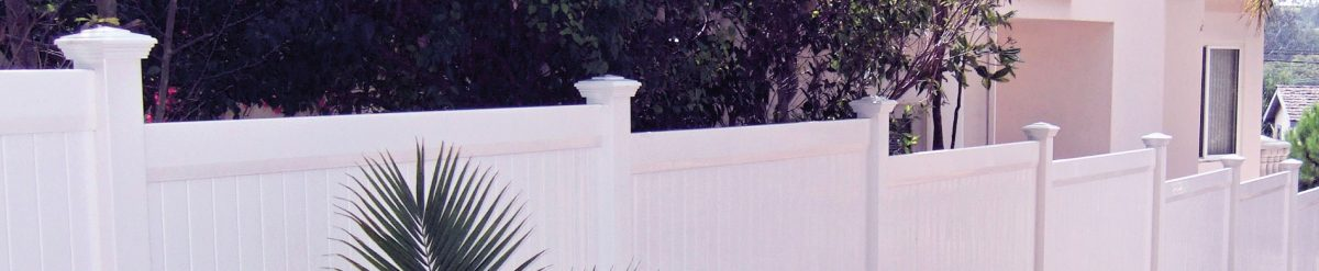 A magnificent vinyl fence around your property can look amazing