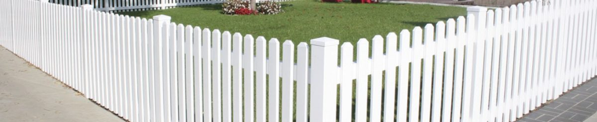 Install a vinyl fence panel to make your property secure and beautiful
