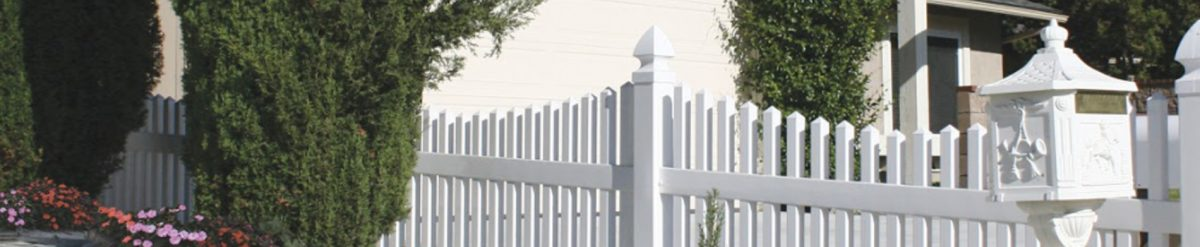 How about installing traditional vinyl fencing from Duramax?