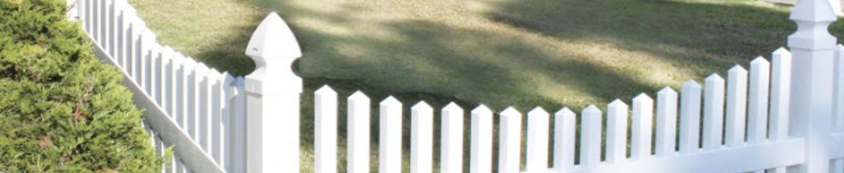Duramax's USA-made traditional vinyl fence is an alternative to wooden fences