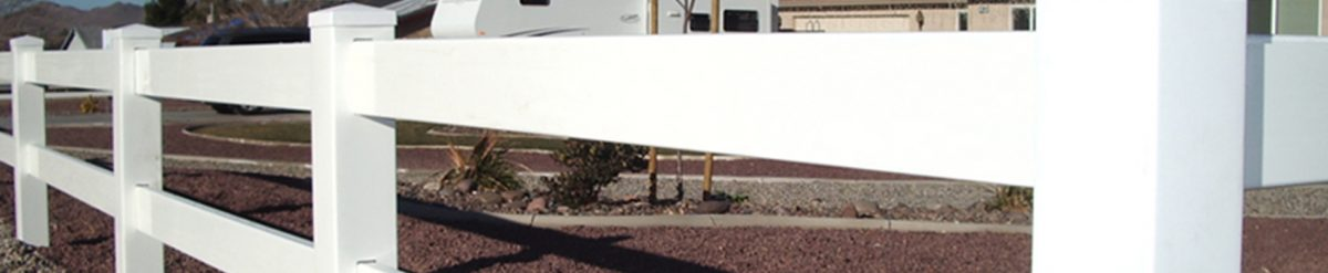 Installing a 3-rail ranch fence around your farm – Play with colors or keep it white